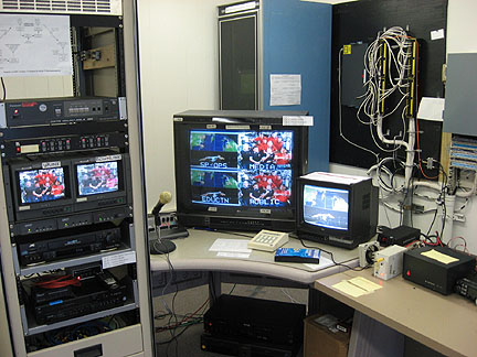 NASA TV re-transmission equipment at Ames Amateur Radio Club to K6BEN-ATV repeater