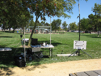 ATV system at Linux Picnic